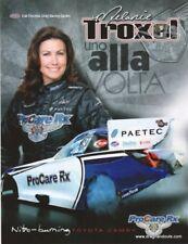 2011 Melanie Troxel Pro Care Toyota Camry Funny Car NHRA postcard