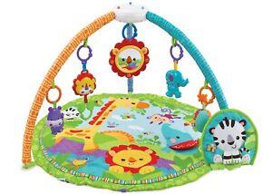 Activity Baby Playmat Safari Sunrise Floor Mat With Fun Music & Sensory Toys