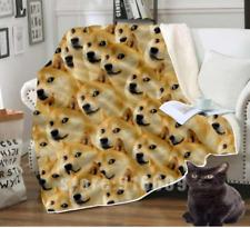 Harajuku Winter Shiba Inu Dog Cheems Cute Gift for Shiba Lovers Fleece Blanket