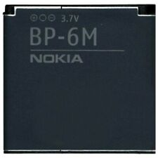 Nokia Batteria originale BP-6M per 3250 6151 6233 6234 6280 6288 Pila Litio Bulk