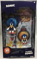 sonic the hedgehog Tomy Classic Sonic 2-pack + Comic Book