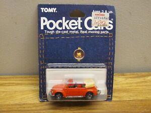 1986 TOMY Pocket Cars VW Volkswagen Beetle Convertible New Sealed