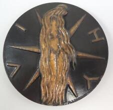 Naked Woman-Vichy Source of Life-Leo Martinez Arts Bourbonnais 1984 Bronze Medal