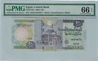 Egypt, 2006 20 Pounds P65e  PMG 66 EPQ