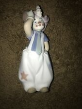 Lladro clown Figurine The Magician's Hat Mint Condition 8092