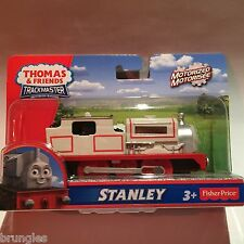 NEW STANLEY TRACKMASTER ENGINE NEW FISHER PRICE THOMAS TANK ENGINE TRACK TRAIN