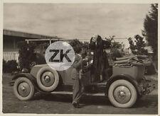 LIL DAGOVER Voiture Cabriolet R. Norman LA GRANDE PASSION Hugon AUBERT Photo '28