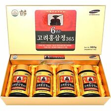 Korean 6 Years Red Ginseng Extract 960g (240g X 4 Bottle) Goryeo Insam Panax