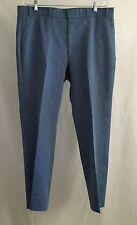 Vintage 70's  LEVI'S ACTION SLACKS Men's Blue Polyester Disco Pants 37x29 USA