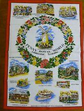 Souvenir Tea Towel Penny Royal World Launceston Tasmania 100% Cotton