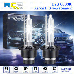 2PCS 6000K 35W D2S D2R D2C HID Xenon Bulbs Replacement Headlight Kit 12V NEW RCP