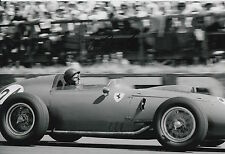Tony Brooks Hand Signed 12x8 Photo Ferrari F1.