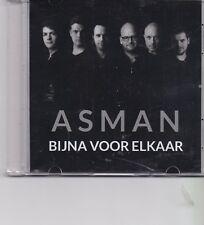 Asman-Bijna Voor Elkaar promo cd single