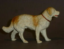 Alter Elastolin Hund Bernhardiner - Massefigur