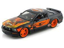 FORD MUSTANG GT 2006 1/24 Die Cast Model Toy Car HARLEY DAVIDSON Eagle Models