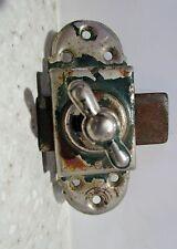 ancien verrou en métal 20 ème siècle