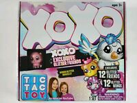 TIC TAC TOY XOXO Exclusive 12 GLITTER FRIENDS +  12 Wings + Bonus Glitt Bracelet