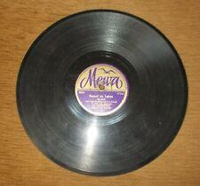 Polish 78 Rpm MEWA orkiestra jazzowa Ch.Bowery'ego, śpiewa Tadeusz Miller
