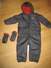 Overall Winteroverall Handschuhe 86/92 Zwillinge Kinderwagenanzug Schneeanzug