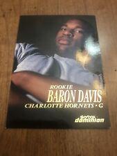 Baron Davis 1999 Fleer Skybox Dominion Rookie Card #204
