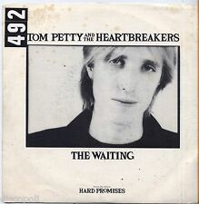 """TOM PETTY & THE HEARTBREAKERS - The Waiting - VINYL 7"""" 45 LP ITALY 1981 VG+/VG-"""
