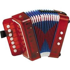 HOHNER Kids Uc102r Musical Toy Accordion Effect Red