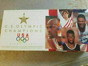 1996 Upper Deck U.S. Olympic Champions USA GOLD TRACK & FIELD SWIM MORE YOU PICK