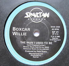 "BOXCAR WILLIE - The Man I Used To Be - Excellent Con 7"" Single Spartan SP 21"
