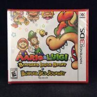 Mario & Luigi: Bowser's Inside Story + Bowser Jr.'s Journey (3DS) BRAND NEW