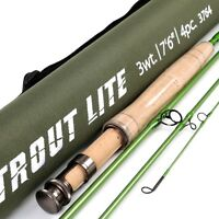 Trout Lite Fly Fishing Rod trout fishing rod IM12 Graphite 4pcs Moderate Action