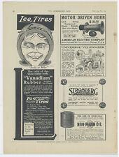 1914 Lee Tires Ad: Lee Tire & Rubber Company, Conahohocken, Pennsylvania
