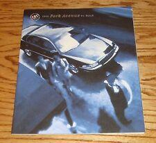 Original 1999 Buick Park Avenue Deluxe Sales Brochure 99
