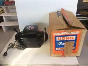 8-308 LIONEL POSTWAR EXCEPTIONAL ZW/250 WATT TRANSFORMER w/ORIGINAL BOX!!!