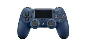 Official Sony PS4 DualShock 4 Wireless Controller v2 Midnight BLUE