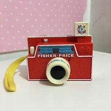 VINTAGE 1960s FISHER PRICE MACCHINA FOTOGRAFICA FOTO STORIA 3 Dischi
