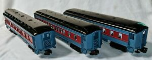 Lionel Polar Express Passenger Car Lot of 3 From Set - Ready to Run