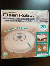 White Clean Robot Robotic Sweeper Automatic Cleaner Dry Wet