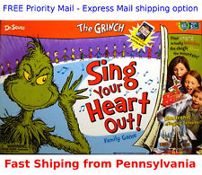 The Grinch Sing Your Heart Out  by Wonder Forge (game) Dr Seuss NEW SEALED  nib