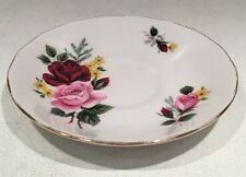 Bone China Porcelain Saucer Queen Anne Collectible