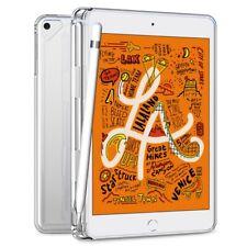Transparent Pencil Holder Soft TPU Case Slim Cover For Apple iPad Mini 5th 2019