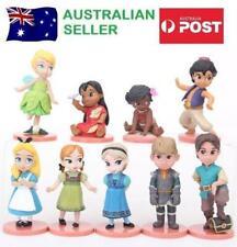 Disney Toddler 9 Piece Figurine Set Cake Toppers Lot Pce Elsa Moana Aladdin 14