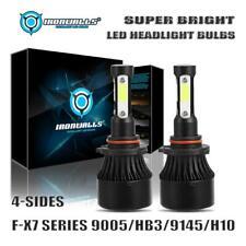 4-Sides 9005 9145 LED Headlight for Toyota Corolla 09-13 RAV4 06-12 Tundra 07-13
