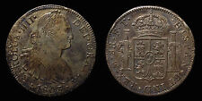 pci1278) SPAIN Carlo III 8 Reales 1803 Messico F.T. Toned old collection