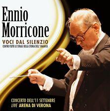 Ennio Morricone VOCI DAL SILENZIO 2CD nuovo Concerto Live Arena di Verona