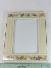 "Lenox Porcelain Picture Frame- 7"" x 9"" (Fits 6 1/2"" x 4 1/2"" Picture)"
