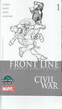 CIVIL WAR FRONT LINE 1 WIZARD WORLD VARIANT...NM-...2006...High Grade Bargain!