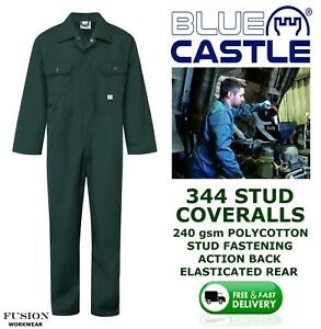 FARM COVERALL SPRUCE GREEN, AGRICULTURAL BOILERSUIT,VET,COUNTRY,OVERALL,FORT