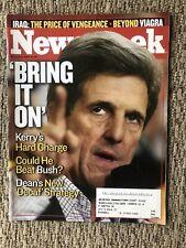 Newsweek Magazine - February 2, 2004 - JOHN KERRY - Bring It On