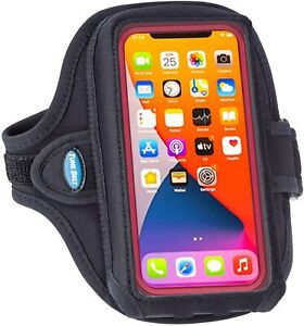 Tune Belt AB92 Cell Phone Running Armband for iPhone 11/12 Pro Max, Black