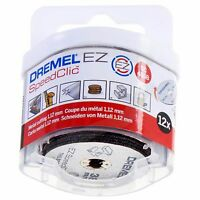 Dremel SC456B 12 x SC456 EZ SpeedClic Metal Cutting Wheels Speed Clic Pack Set